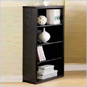Coaster Classic Standard 4 Shelf Wood Bookcase in Black