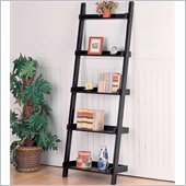 Coaster Bookcases Casual Leaning Bookcase