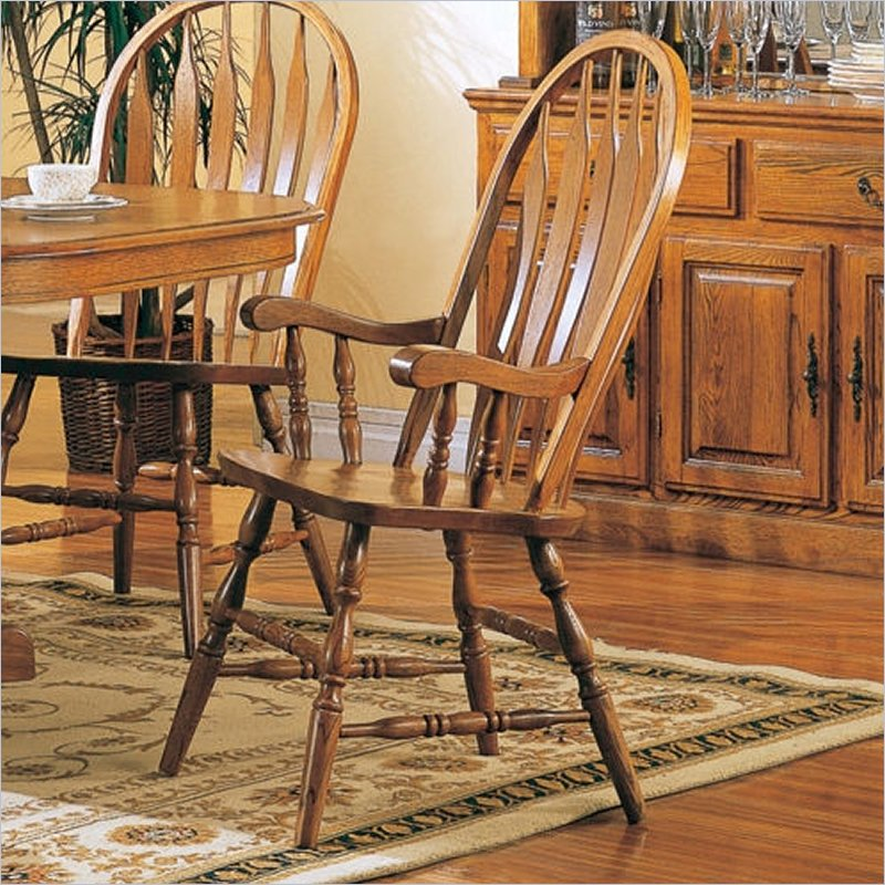 Coaster Soild Oak Dining Chairs