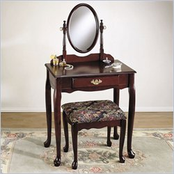 Powell Cherry Vanity