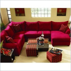 Klaussner Furniture Fletcher  3 Piece Sectional