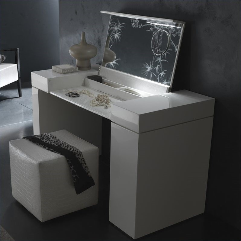 Rossetto Nightfly Dressing Table in White at Sears.com