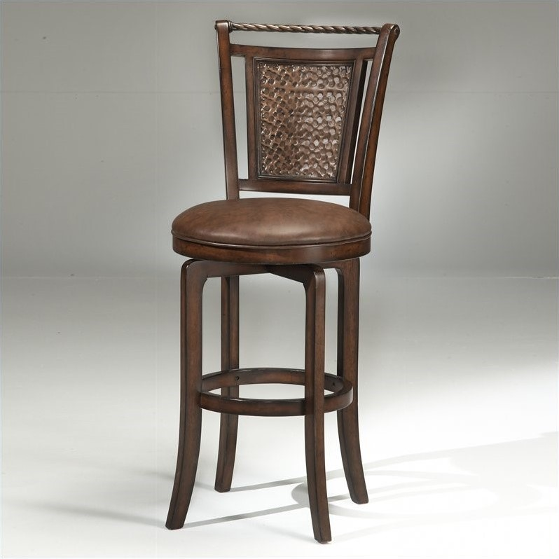 Hillsdale Norwood 26 5 Quot Counter Height Swivel Bar Stool Ebay