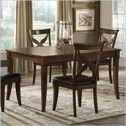 hillsdale oak dining table