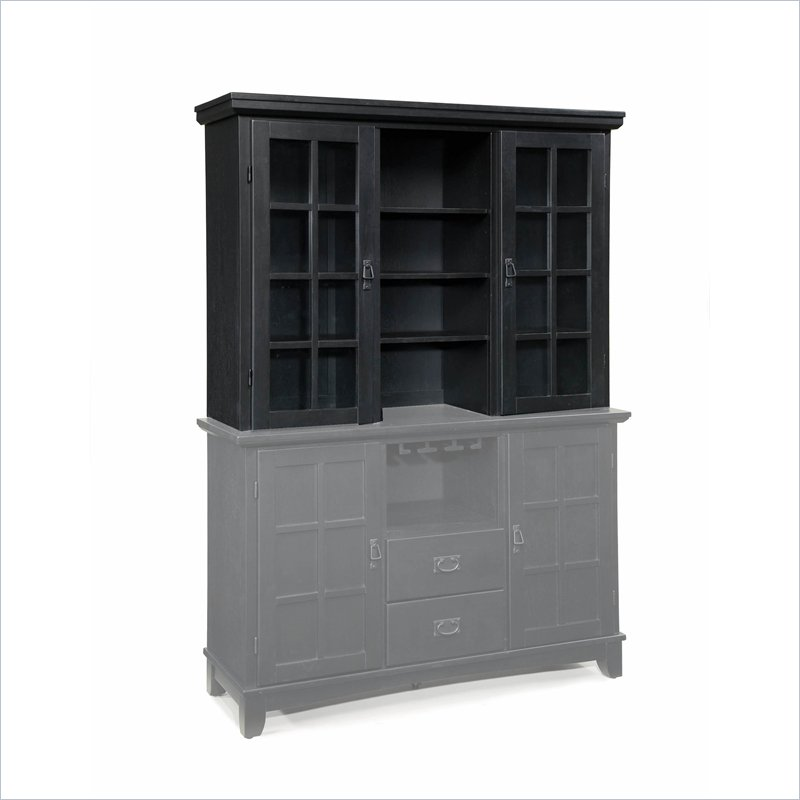 Home Styles Arts and Crafts Wood Buffet Hutch in Ebony at Sears.com