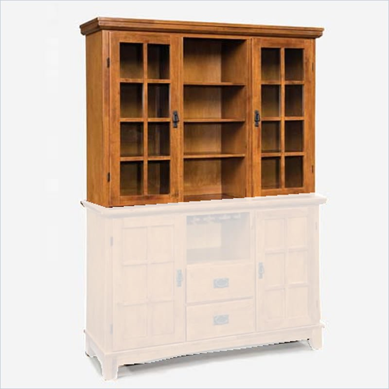 Home Styles Arts and Crafts Buffet Hutch in Cottage Oak at Sears.com