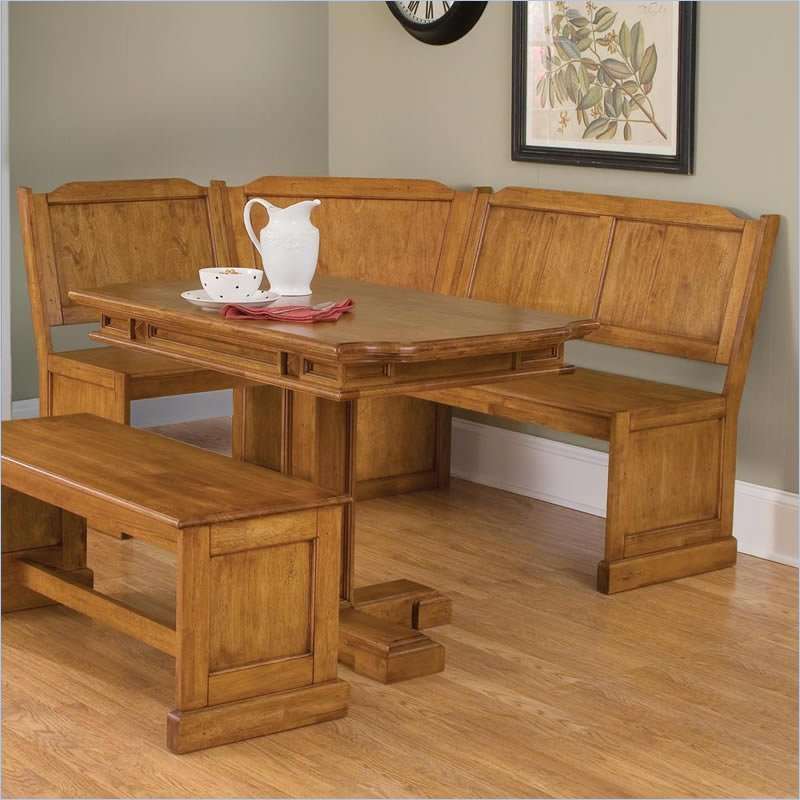 Dining table kitchen nook dining tables for Corner dining table
