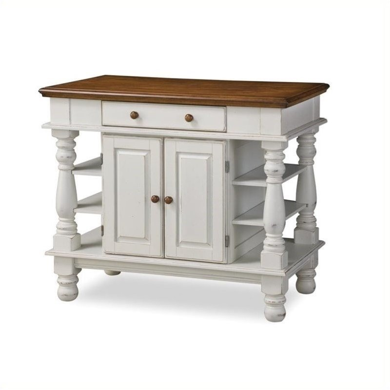 Details about Home Styles Americana Island Kitchen Cart