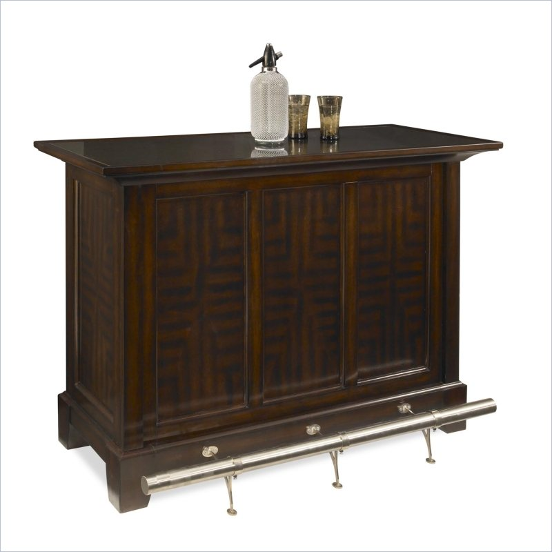 Home Styles Rio Vista Home Bar in Espresso Finish