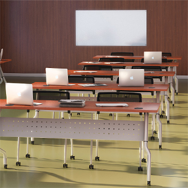 work and training tables