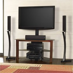 Bello Triple Play 42 Inch Corner TV Stand