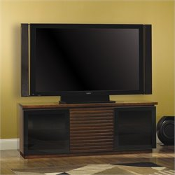 Contemporary 65 Wide Espresso Finish Wood Audio/Video Cabinet