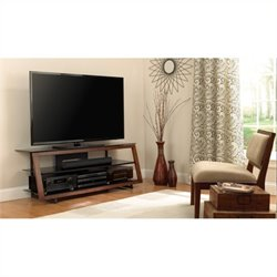 Bello TV Stand in Medium Espresso Finish