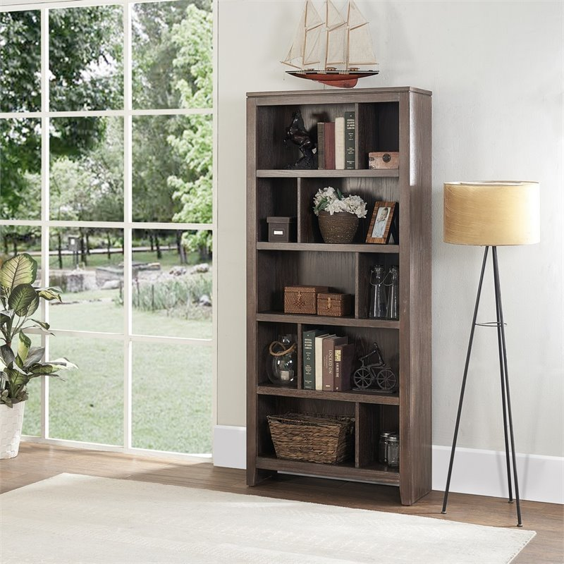 Linon Bess Large Bookcase EZ Assembly