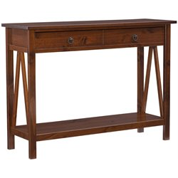 Console Table in Antique Tobacco