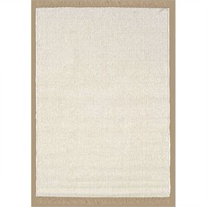 Rugs Berber Rectangular Area Rug in Natural and Ivory