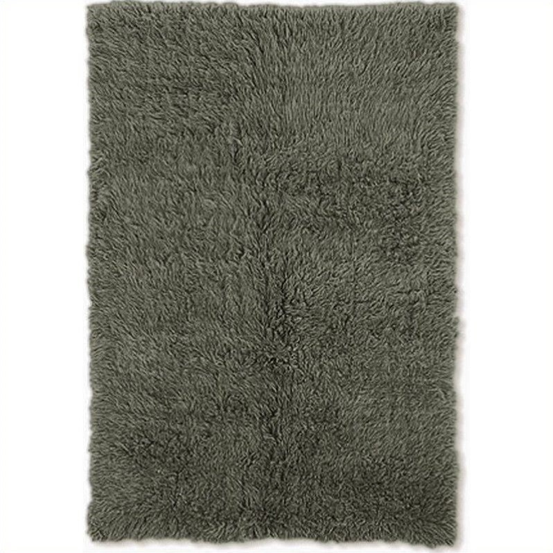 Rugs Rectangular Area Rug in Olive