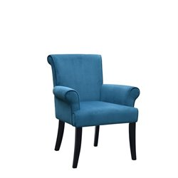 Accent Chair in Dark Blue