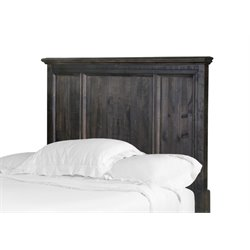 Magnussen Calistoga Twin Panel Headboard in Weathered Charcoal