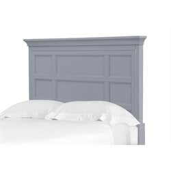 Magnussen Graylyn Twin Panel Headboard in Steel Drum