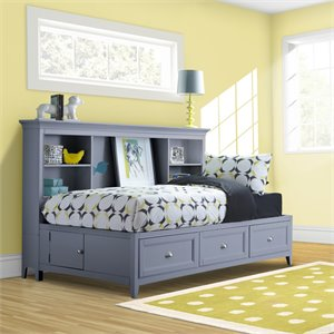 Graylyn Lounge Bed in Steel Drum