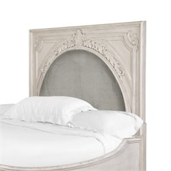 Magnussen Davenport Upholstered Queen Headboard in Weathered Parchment