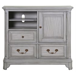 Magnussen Windsor Lane 2 Drawer Media Chest in Weathered Gray