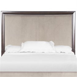 Magnussen Kennett Square Upholstered Panel Headboard in Java-SH3