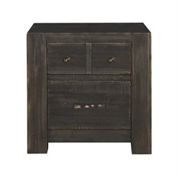 Magnussen Easton 2 Drawer Nightstand in Dark Chocolate