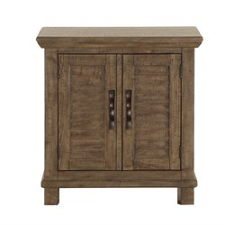 Magnussen Canyon Road 2 Door Nightstand in Soft Caramel