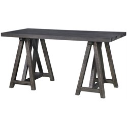 Magnussen Sutton Place Home Office Desk in Weathered Charcoal
