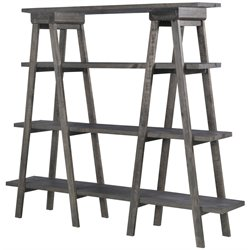 Magnussen Sutton Place 4 Shelf Bookcase in Weathered Charcoal