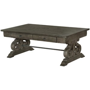 Magnussen Bellamy Coffee Table in Weathered Pine