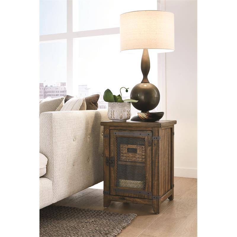 Magnussen T4717 Chesterfield Chairside End Table