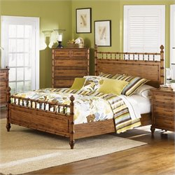 Magnussen Palm Bay Poster Bed in Toffee - California King
