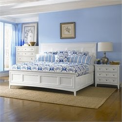 Magnussen Kentwood Panel Bed in White