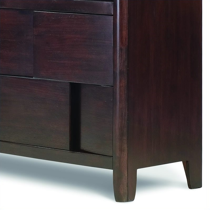 Magnussen Nova Wood Media Chest TV Stand in Espresso