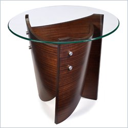 Magnussen Contour Round End Table