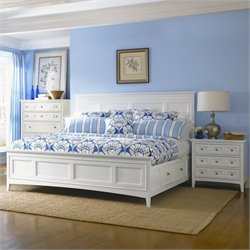 Magnussen Kentwood Storage Panel Bedroom Set in White