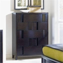 Magnussen Nova 5 Drawer Chest in Chestnut