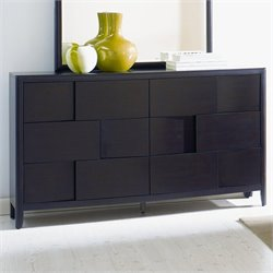 Magnussen Nova 6 Drawer Double Dresser in Chestnut
