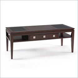 Magnussen Micah Wood Rectangular Cocktail Table