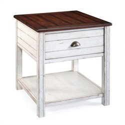 Magnussen Bellhaven Wood Rectangular End Table