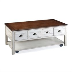 Magnussen Bellhaven Wood Rectangular Cocktail Table