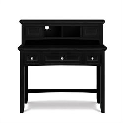 Magnussen Bennett Desk with Hutch in Black
