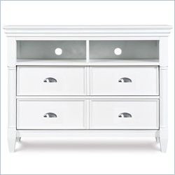 Magnussen Kasey Media Chest in White