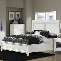 Magnussen Whitley Wood Island Bed in Soft Grey