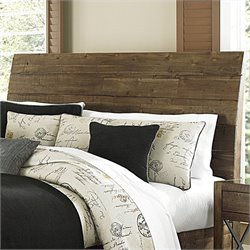 Magnussen River Ridge Wood Island Sleigh Headboard in Natural