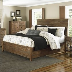 Magnussen River Ridge Wood Island Bed in Natural