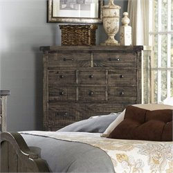 Magnussen Brenley Five Drawer Chest in Natural Umber